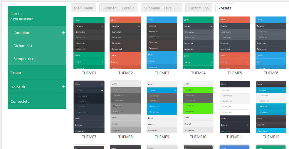 accordion-menu-wordpress-styles-presets