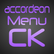 accordeon menu